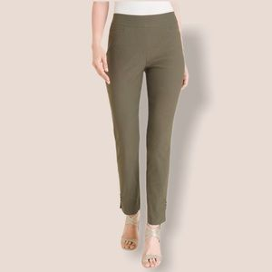 Chicos Fabulously Slimming Twill Pants